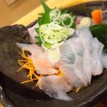 四ツ木「ゑびす(大衆酒場)」肝ポン付きのカワハギ刺し410円に感激!魚が安ウマな大衆酒場