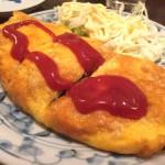 京成八広「亀屋(大衆酒場)」具だくさんの納豆オムレツに感激!元祖下町ボール酒場