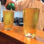 京成八広「日の丸酒場(大衆酒場)」スレスレ!強炭酸の下町ボール300円が美しく美味しい