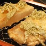 恵比寿「喜久や(立ち飲み)」大根の天ぷらに舌鼓!話題の天ぷら立ち飲み