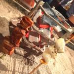 新橋「炉縁(ろえん)」佐賀直送の串を囲炉裏で焼こう!ニューオープンの愉しい囲炉裏立ち飲み