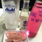 池袋「笹屋」新生姜100円でバイスサワー350円をグビっと!ほっと落ち着く角打ち