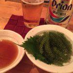 浅草「ニュー吞吞」海ぶどうとオリオンビールで沖縄気分!沖縄料理が気軽に愉しめる安ウマ立ち飲み