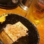 大阪-京橋「二升五合」一杯三品のモーニングサービス500円がお得!朝飲みできる落ち着く立ち飲み