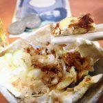 綾瀬「江戸っ子」やっこ風クリームチーズ100円で酎ハイ200円をグビっと!100円アテが嬉しい激安立ち飲み