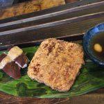 亀戸「高の」鳥もも素揚げとお鍋のそば湯割りで温まる!立ち飲みもできる団地の蕎麦居酒屋